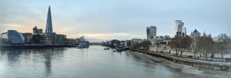London Tower Bridge View